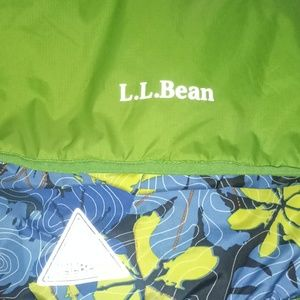 L.L. Bean Jackets & Coats - L.L. Bean reversible 1/4 zip pullover medium 10-12